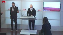 Conferències de premsa - Conferència de premsa del síndic de greuges, Rafael Ribó, per presentar l'informe anual de la institució corresponent al 2020