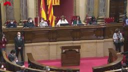 Ple del Parlament. 13/05/2021 - sessió específica
