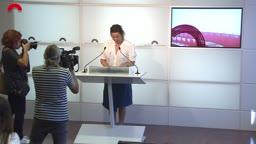 Conferències de premsa - Conferència de premsa de la portaveu del grup del PSC-Units, Alícia Romero